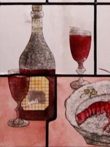 raamdetail wijn