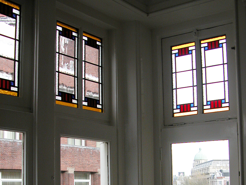 Glas In Lood Amsterdam.Glas In Lood Project Amsterdam 004 Veronica Glas In Lood