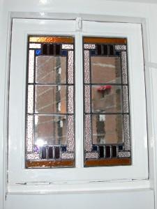 Op deze etage in Amsterdam ontbraken de raampjes die hetzelfde zijn gemaakt als de ramen van de etage eronder.