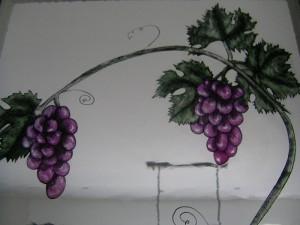 Detail Bourgondische ramen.