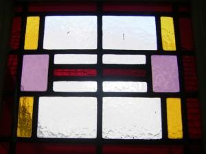 glas in lood zijraam naar bestaand model