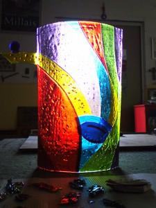 glaskunst fusing techniek