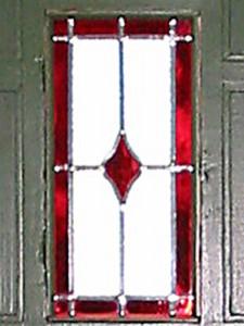Detail fotootje van voordeur.