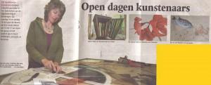 Open dagen kunstenaars