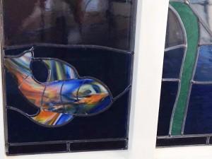 vis - Tiffany glas