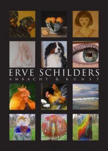 Flyer Erve schilders ambacht en kunstexpositie