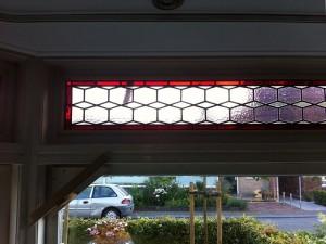 deze bestaande ramen heeft Veronica Huisintveld opnieuw verlood en in dubbel glas laten plaatsen; zeer tevreden klanten :)