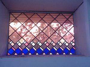 raam zijkant kerk