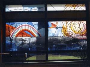 eigen ontwerp Veronica: grote panelen in stilte centrum van Casa Bonita te Apeldoorn