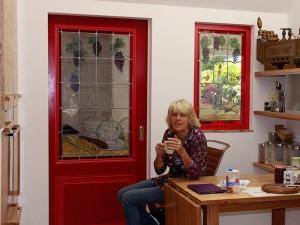 Veronica Huisintveld heeft wel een kopje koffie verdiend! Wat een prachtige bijzondere opdracht was dit, met veel plezier aan gewerkt!